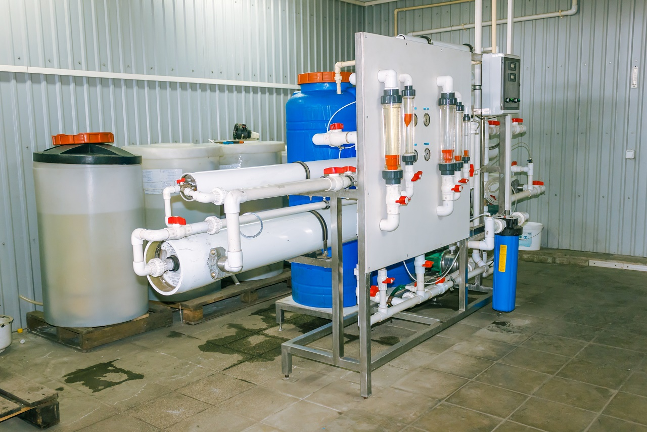 Irrigation with desalinated water   Cropaia